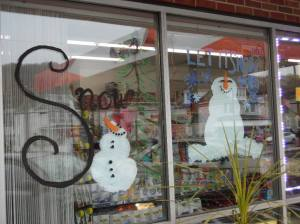 PV Students Paint Store Fronts, submitted, via Lansford Alive, Lansford, 12-11-2015 (2)