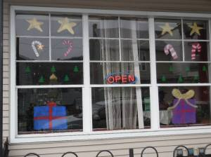 PV Students Paint Store Fronts, submitted, via Lansford Alive, Lansford, 12-11-2015 (24)