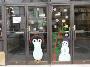 PV Students Paint Store Fronts, submitted, via Lansford Alive, Lansford, 12-11-2015 (26)