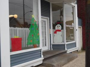 PV Students Paint Store Fronts, submitted, via Lansford Alive, Lansford, 12-11-2015 (27)