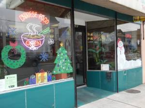 PV Students Paint Store Fronts, submitted, via Lansford Alive, Lansford, 12-11-2015 (30)