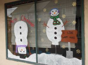 PV Students Paint Store Fronts, submitted, via Lansford Alive, Lansford, 12-11-2015 (7)
