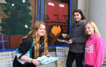 PV Students Paint Store Fronts, via Lansford Alive, Lansford, 12-11-2015 (11)b