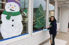 PV Students Paint Store Fronts, via Lansford Alive, Lansford, 12-11-2015 (7)