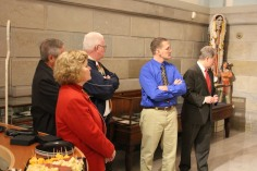 Ribbon Cutting for Renovations to Tamaqua Historical Society Museum, Tamaqua, 12-18-2015 (16)