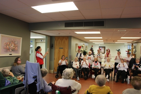 SA Bell Choir, St Luke's Hospital, Coaldale (21)