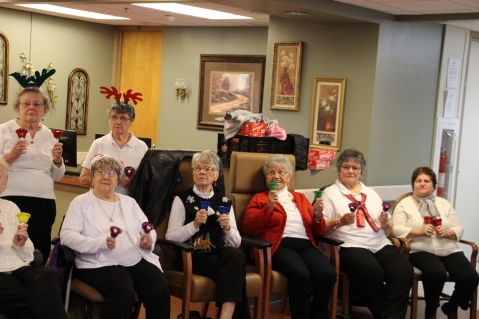 SA Bell Choir, St Luke's Hospital, Coaldale (40)