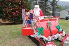 Santa Claus Visits Dam, Festival at Owl Creek, Tamaqua, 12-12-2015 (8)