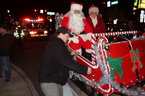 Santa Parade and Park Illumination, Depot Square Park, Tamaqua, 12-4-2015 (12)