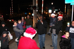 Santa Parade and Park Illumination, Depot Square Park, Tamaqua, 12-4-2015 (20)
