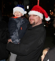 Santa Parade and Park Illumination, Depot Square Park, Tamaqua, 12-4-2015 (24)