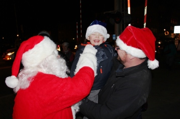 Santa Parade and Park Illumination, Depot Square Park, Tamaqua, 12-4-2015 (26)