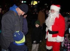 Santa Parade and Park Illumination, Depot Square Park, Tamaqua, 12-4-2015 (28)