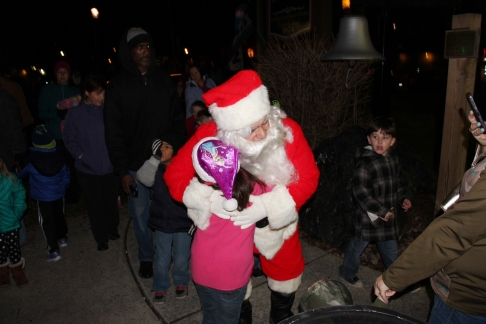 Santa Parade and Park Illumination, Depot Square Park, Tamaqua, 12-4-2015 (30)
