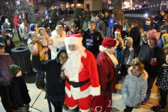 Santa Parade and Park Illumination, Depot Square Park, Tamaqua, 12-4-2015 (36)