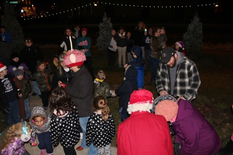 Santa Parade and Park Illumination, Depot Square Park, Tamaqua, 12-4-2015 (41)
