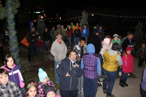 Santa Parade and Park Illumination, Depot Square Park, Tamaqua, 12-4-2015 (45)