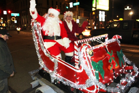 Santa Parade and Park Illumination, Depot Square Park, Tamaqua, 12-4-2015 (55)