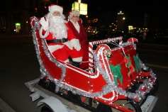 Santa Parade and Park Illumination, Depot Square Park, Tamaqua, 12-4-2015 (60)