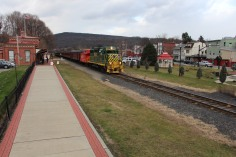 Santa Train Rides, via Tamaqua Historical Society, Train Station, Tamaqua, 12-19-2015 (101)