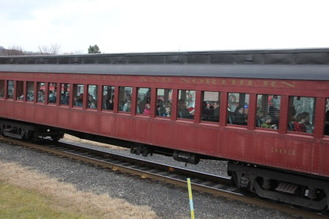 Santa Train Rides, via Tamaqua Historical Society, Train Station, Tamaqua, 12-19-2015 (121)