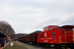 Santa Train Rides, via Tamaqua Historical Society, Train Station, Tamaqua, 12-19-2015 (16)
