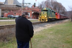 Santa Train Rides, via Tamaqua Historical Society, Train Station, Tamaqua, 12-19-2015 (1)a