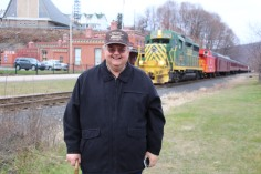 Santa Train Rides, via Tamaqua Historical Society, Train Station, Tamaqua, 12-19-2015 (2)