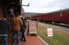 Santa Train Rides, via Tamaqua Historical Society, Train Station, Tamaqua, 12-19-2015 (20)
