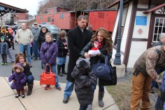 Santa Train Rides, via Tamaqua Historical Society, Train Station, Tamaqua, 12-19-2015 (46)
