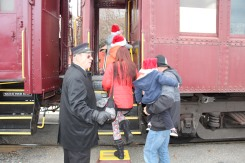 Santa Train Rides, via Tamaqua Historical Society, Train Station, Tamaqua, 12-19-2015 (56)