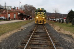 Santa Train Rides, via Tamaqua Historical Society, Train Station, Tamaqua, 12-19-2015 (64)
