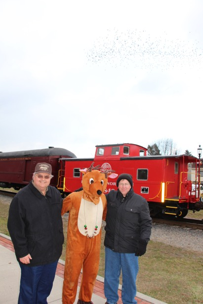 Santa Train Rides, via Tamaqua Historical Society, Train Station, Tamaqua, 12-19-2015 (79)
