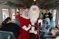 Santa Train Rides, via Tamaqua Historical Society, Train Station, Tamaqua, 12-19-2015 (86)
