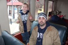 Santa Train Rides, via Tamaqua Historical Society, Train Station, Tamaqua, 12-19-2015 (88)