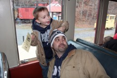 Santa Train Rides, via Tamaqua Historical Society, Train Station, Tamaqua, 12-19-2015 (90)