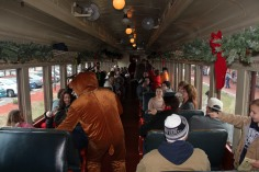 Santa Train Rides, via Tamaqua Historical Society, Train Station, Tamaqua, 12-19-2015 (91)