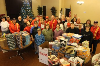 SCMCL Toys For Tots, Salvation Army, Distribution, Lehighton (9)