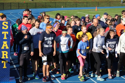 SubUrban 5k Run, Memory of Thelma Urban, TASD Sports Stadium, Tamaqua, 10-17-2015 (53)