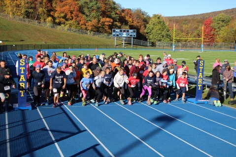 SubUrban 5k Run, Memory of Thelma Urban, TASD Sports Stadium, Tamaqua, 10-17-2015 (56)
