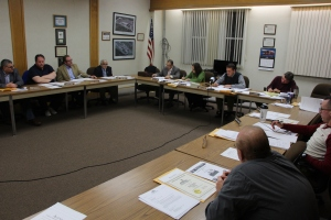 Tamaqua Borough Council Meeting, Borough Hall, Tamaqua, 12-1-2015 (1)