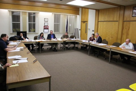Tamaqua Borough Council Meeting, Borough Hall, Tamaqua, 12-15-2015 (1)