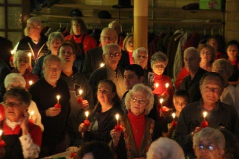 Tamaqua Community Advent Breakfast, Zion Evangelical Lutheran Church, Tamaqua, 12-12-2015 (140)