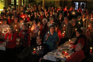 Tamaqua Community Advent Breakfast, Zion Evangelical Lutheran Church, Tamaqua, 12-12-2015 (161)