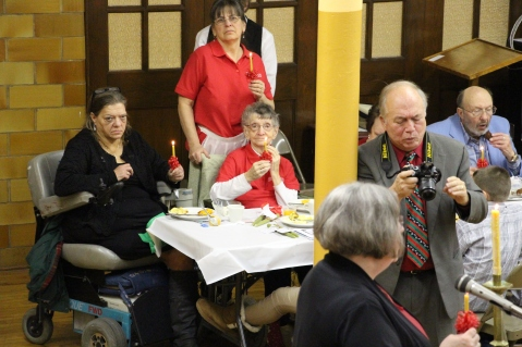 Tamaqua Community Advent Breakfast, Zion Evangelical Lutheran Church, Tamaqua, 12-12-2015 (68)