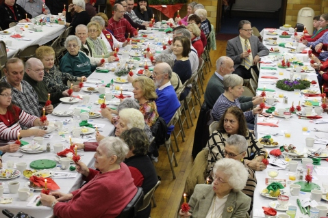 Tamaqua Community Advent Breakfast, Zion Evangelical Lutheran Church, Tamaqua, 12-12-2015 (91)