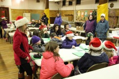 Tamaqua Girls Scouts Go Caroling, ABC Hi Rise, Majestic House, Tamaqua, 12-20-2015 (6)