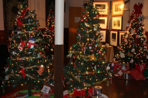Tree Festival, Voting, Tamaqua Community Arts Center, Tamaqua, 12-4-2015 (22)
