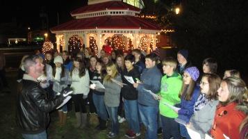 Tree Lighting, Spirit of Christmas Festival, Depot Square Park, Tamaqua, 12-6-2015 (10)