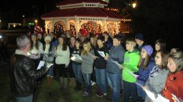 Tree Lighting, Spirit of Christmas Festival, Depot Square Park, Tamaqua, 12-6-2015 (11)
